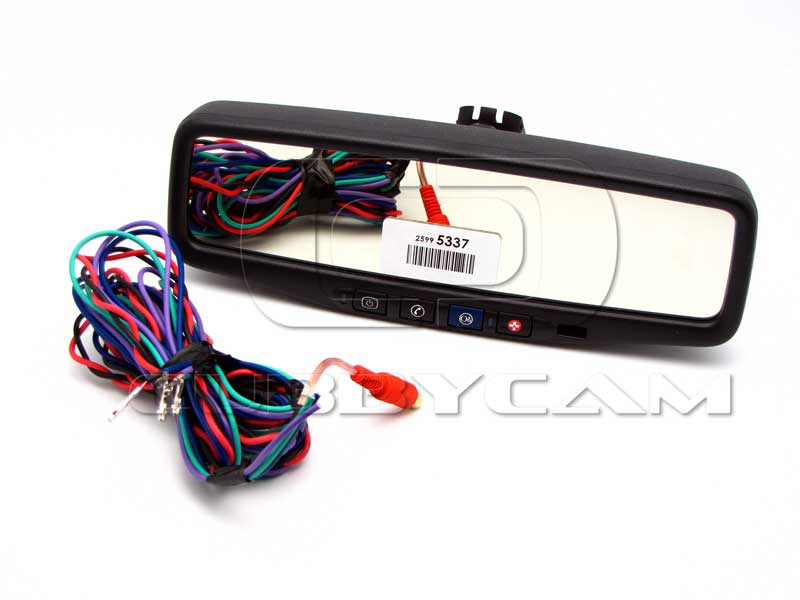 Gm Oem Backup Display Mirror For 2009