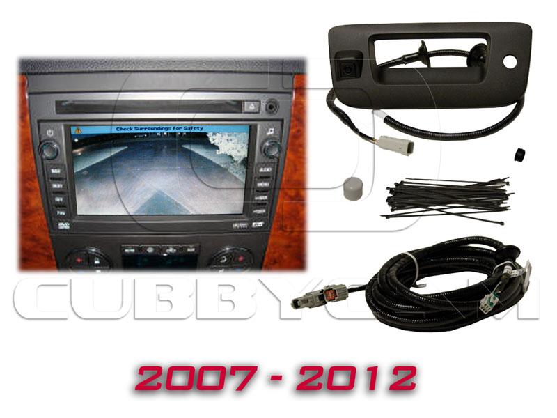 GM OEM NAV Tailgate Handle Backup Camera For 2007 2013
