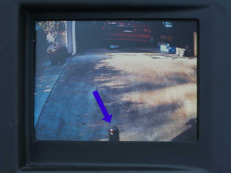 CCD Camera - Tailgate Bezel Handle - GM Pickups - Click Image to Close